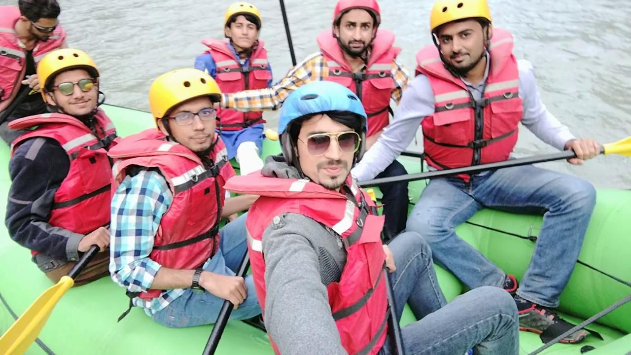 Naran | River rafting in Naran Kaghan 2018 #UBCollections