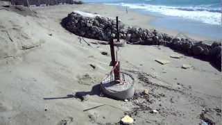 """Sellia Marina (CZ), dissesto idrogeologico al locale """"Blue Cafè"""" - 25/02/2013"""