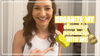 NEW! SMALL LINEN CLOSET MAKEOVER // How To Organize Your Utility Closet + Cleaning Product Stash