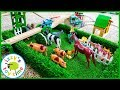 THE FIELD! Toy Trains and FARM ANIMALS? YES! Thomas and Friends Toy Trains for Kids