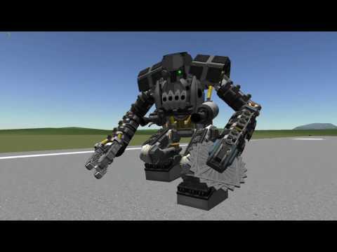 Kerbal Space program - Mech Walker season 5 - WH40K - Ork Deff Dread