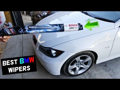 HOW TO REPLACE WINDSHIELD WIPERS ON BMW