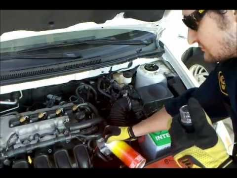 Running on Carb Spray - YouTube
