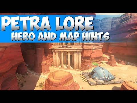 Overwatch: Petra Lore and Teasers [New Hero and Map Hints]