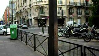 Morning in the 17th Arrondissement, Paris, France