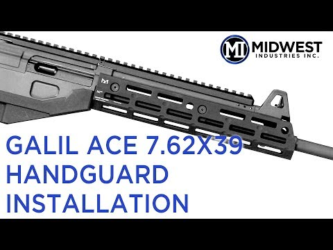 MI-GACEXR MI Galil Ace 7 62X39mm Extended Rifle Length Handguard, M-LOK(TM)  compatible