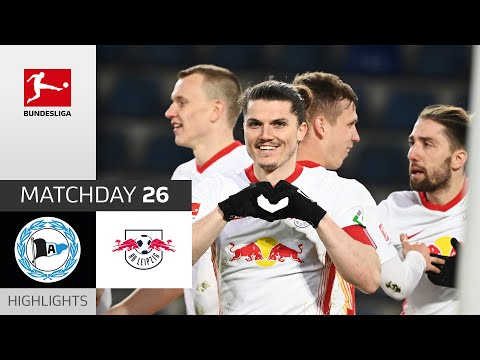 Arminia Bielefeld RB Leipzig Goals And Highlights