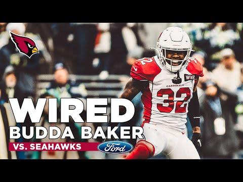 Budda Baker Mic'd Up vs. Seahawks   Arizona Cardinals