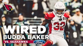 Budda Baker Mic'd Up vs. Seahawks | Arizona Cardinals