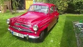 Обзор Тест-Драйв Škoda 440 Spartak 1958 года от Яна с Чехии, Тачка Его Дедушки