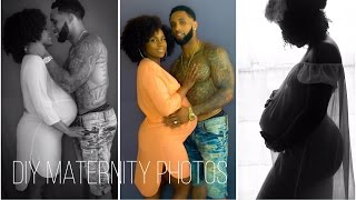 How To: DIY Maternity Photoshoot | Shardel Haden