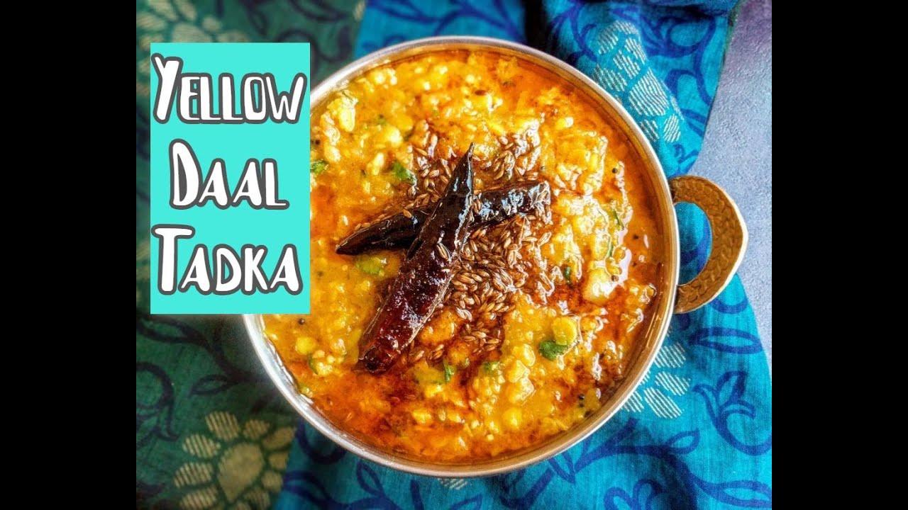 dhaba style dal tadka recipe dal tadka jeyashris kitchen - Jeyashris Kitchen
