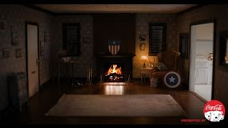 Captain America's Brooklyn Apartment Fireside Video in 4K