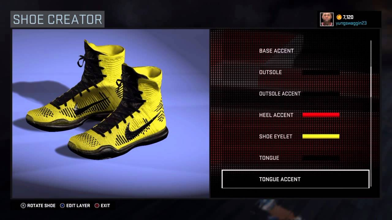 3bc8e1958d53 Nba 2K16 Shoe Creator Nike Kobe X Elite Coda - YouTube