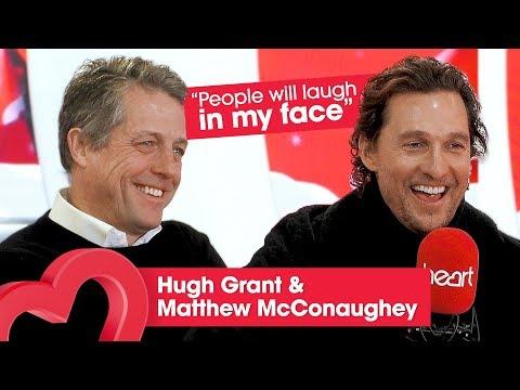 Hugh Grant & Matthew Mcconaughey talks The Gentlemen and perfecting Cockney accents ❄️| Heart