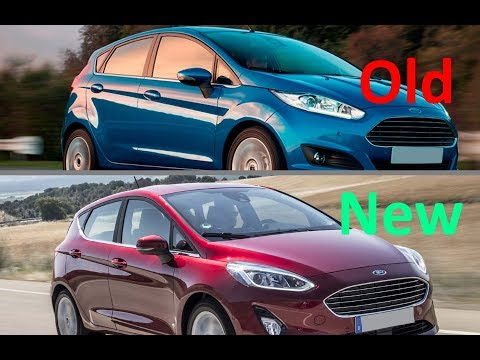 New 2018 Ford Fiesta Titanium Vs Old Ford Fiesta Titanium Youtube