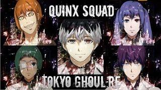 Quinx Squad Members in Tokyo Ghoul Season 3