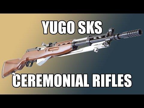 Yugoslavian / Serbian Ceremonial SKS M59 / 66A1 Rifles