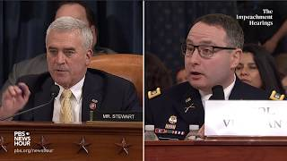 WATCH: Rep. Brad Wenstrup's full questioning of Vindman and Williams | Trump impeachment hearings