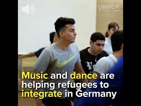 How music and dance are helping refugees integrate in Germany
