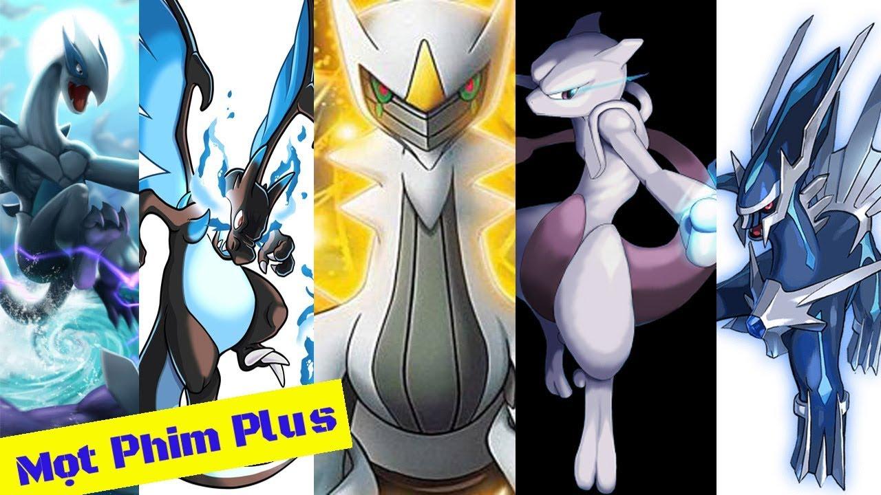 Top 10 Pokemon Có Sức Mạnh Bá Đạo Nhất 2018   Top 10 Strongest Pokemon 2018