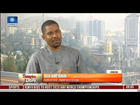 Deji Adeyanju Gives Account Of Wuse Market Clash   Sunrise Daily  