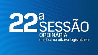 22ª Sessão Ordinária da Décima Oitava Legislatura - TV CÂMARA ITANHAÉM