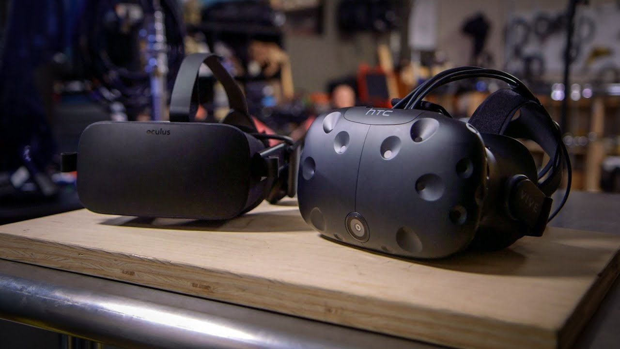 HTC Vive vs  Oculus Rift: The Virtual Reality Comparison We