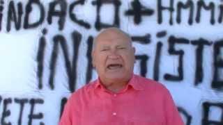 FORIO, LAVORATORE LICENZIATO PROTESTA AL MUNICIPIO NOTTE E GIORNO LA SOLIDARIETA