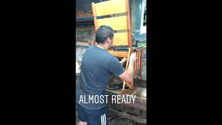 How We Build the Costa Rican Rocking Chair - The Original!