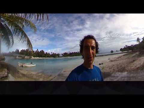 Getting out to sea in Kiribati