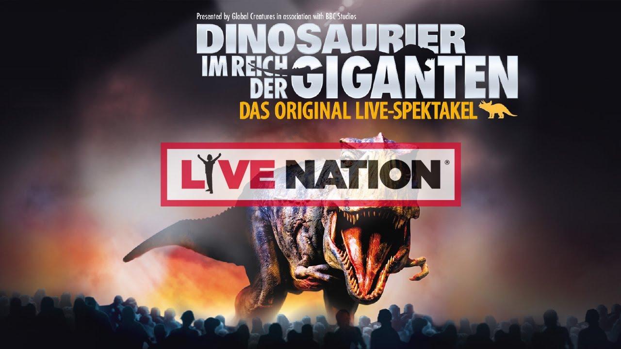 Dinosaurier Im Reich Der Giganten 2019 Live Live Nation Gsa