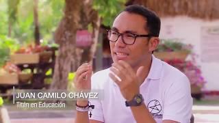 Juan Camilo Chávez, Titán Caracol nominado en educación | Noticias Caracol