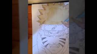 Drawing Naruto 9 tails