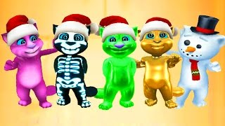 МОЙ ГОВОРЯЩИЙ ТОМ #20 - Мой виртуальный питомец - игровой мультик видео для детей  Дед Мороз