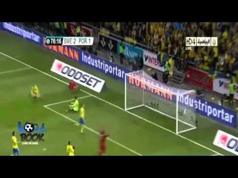 Cristiano Ronaldo Hat Trick VS Sweden - Portuguese Commentary