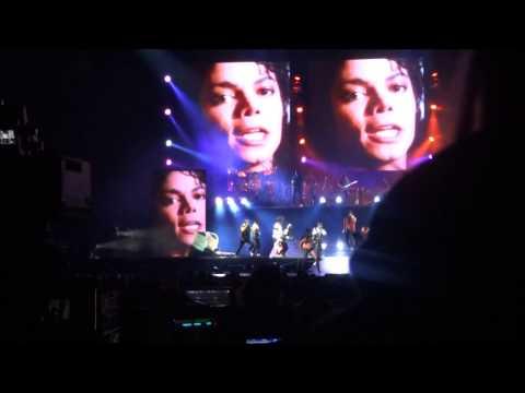Michael Jackson Immortal - Beat It/State Of Shock Live in Helsinki 6.11.2012