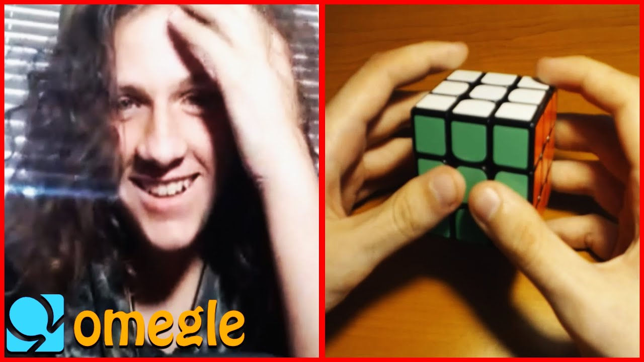 Solving Rubik's Cube on Omegle but I pretend I'm a beginner 3