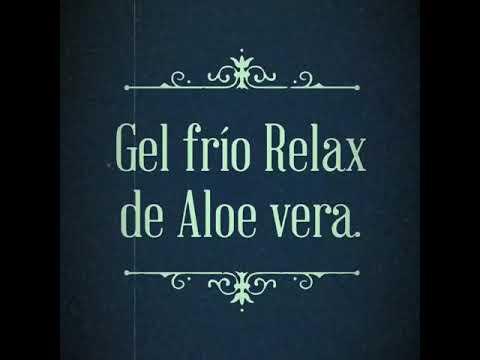 Gel frío relax de Aloe vera - Relajante muscular