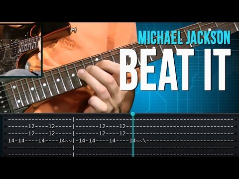Beat It - Michael Jackson (how to play - aula de guitarra)