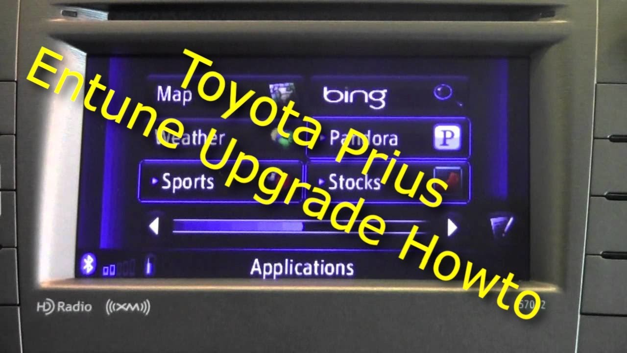Toyota Prius Entune Upgrade 2 1 Update Hd 1080p Youtube