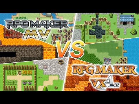 RPG Maker MV vs  VX Ace! Was ist neu? - YouTube