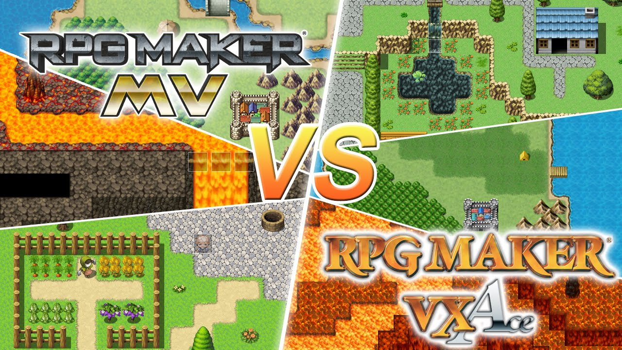 Rpg Maker Vx Ace Bulletin Rmvx Ace Features And: RPG Maker MV Vs. VX Ace! Was Ist Neu?