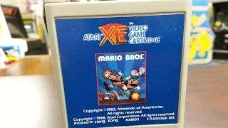 Classic Game Room - MARIO BROS. review for Atari Computers