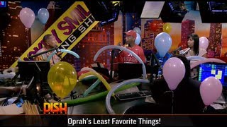 What's Oprah Least Favorite Thing? Balloons!