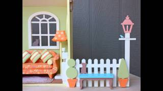 Close And Carry Barbie® House Woodworking Plan