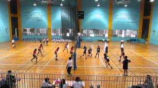 2016 B Div Girls Nat Semi PHS vs CGS 2-0 1st set