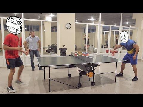 Настольный Теннис Уроки и Приемы Подборка роликов Настольного Тенниса