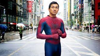 【国内・おもしろ】銀座で話題のスパイダーマン、正体は…ムキムキ会社員【Buzzにゅ~】 thumbnail