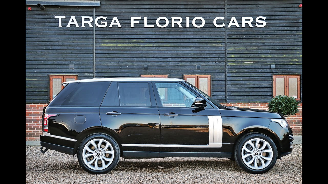 Range Rover Autobiography 4 4 SDV8 8 Speed Automatic in Barolo